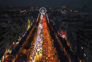 Christmas on the Champs-Élysées, Paris © French Moments