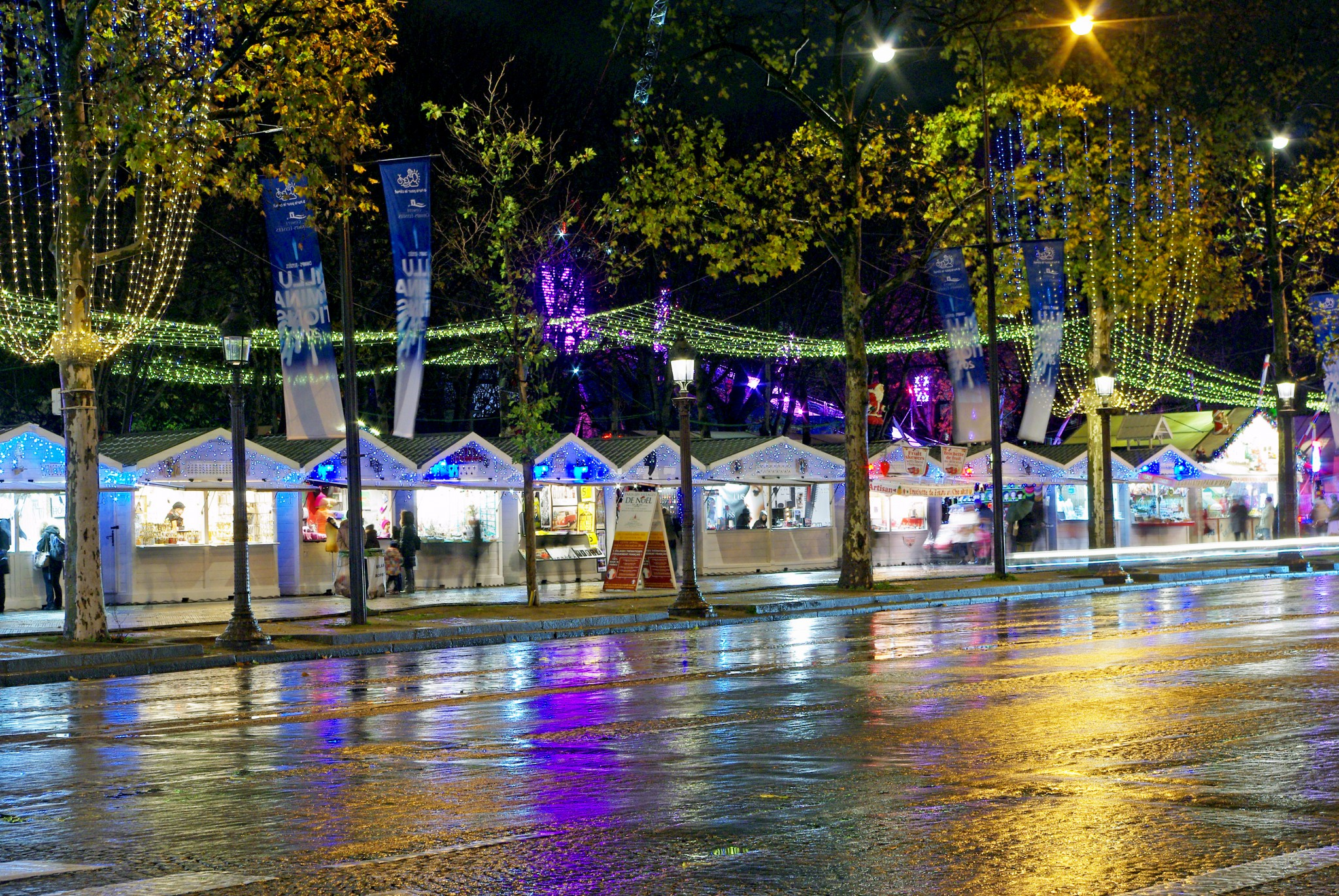 christmas market in champs elysees paris 2015 french moments