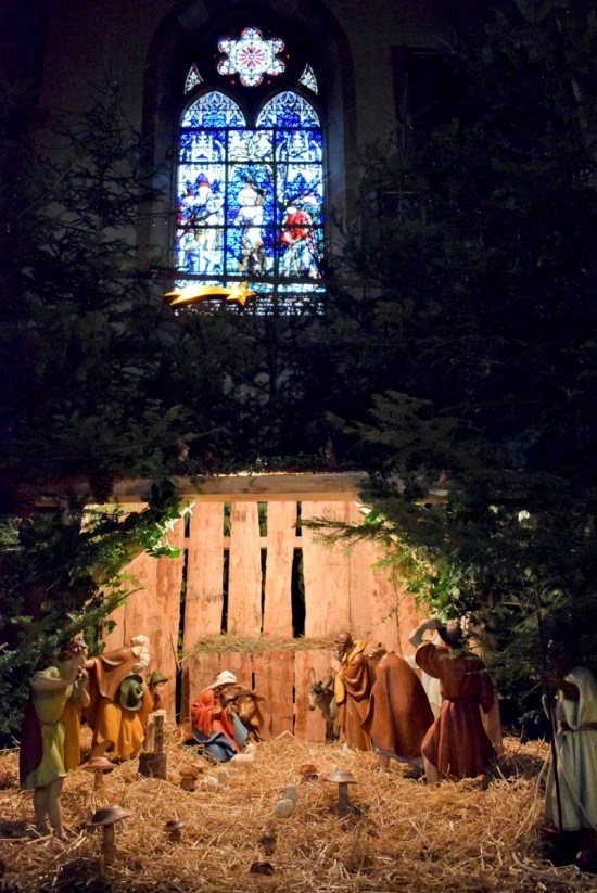 Nativity Scene in Obernai, Alsace © French Moments