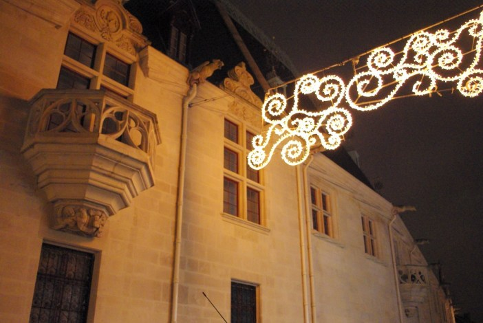 Christmas lights in the streets of Nancy © French Moments
