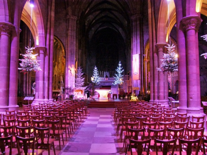 Inside St. Georges Church, Sélestat © Selestadium Novum