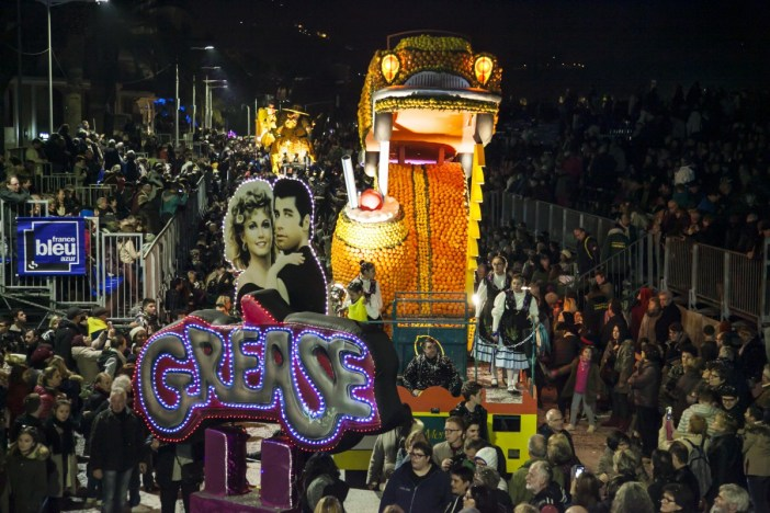 The night parade © Ville de Menton