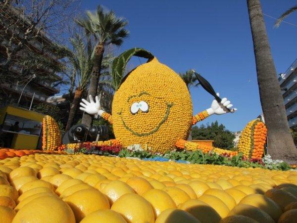In Menton, it's all about lemon! © Office de Tourisme de Menton