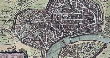 Toulouse Map in 1631