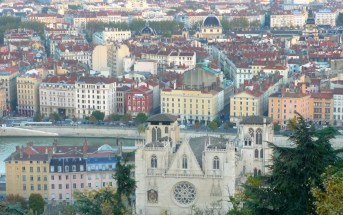 Lyon from the Fourvière Hill © French Moments