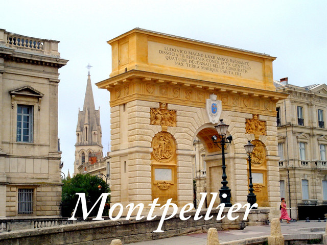 Montpellier Triumphal Arch