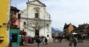 Annecy churches Savoie