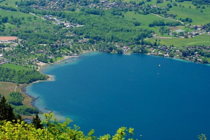 Bout du Lac from Col de la Forclaz © French Moments