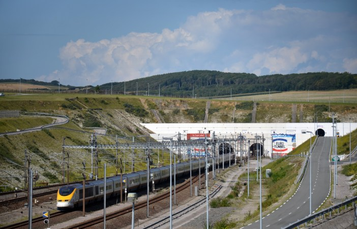 Channel Tunnel entrance © Billy69150- licence [CC BY-SA 4