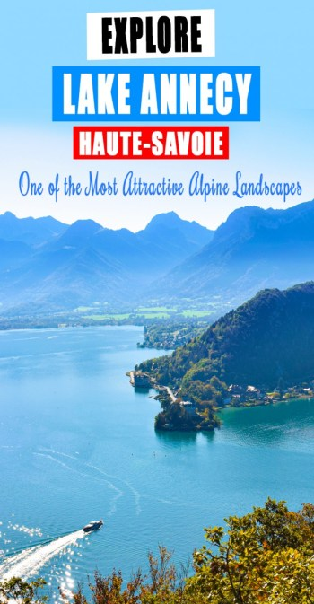 Visit Lake Annecy © French Moments