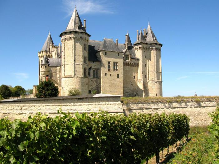 Saumur Castle © Coucouoeuf - licence [CC BY-SA 3