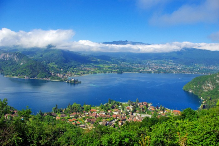 Lake Annecy and Talloires from Ermitage de Saint-Germain © French Moments
