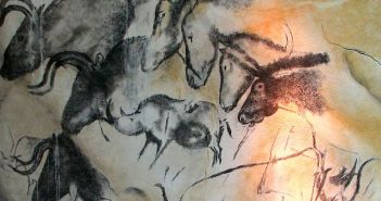 Chauvet Cave Paintings Replica © HTO from Wikimedia Commons