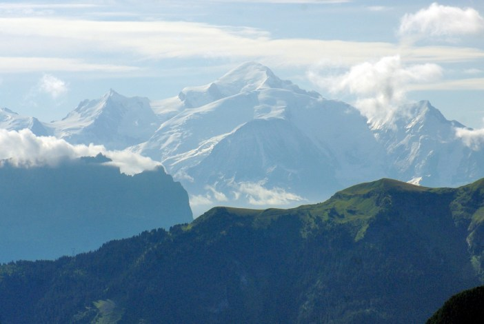 Mont-Blanc from Le Môle © French Moments