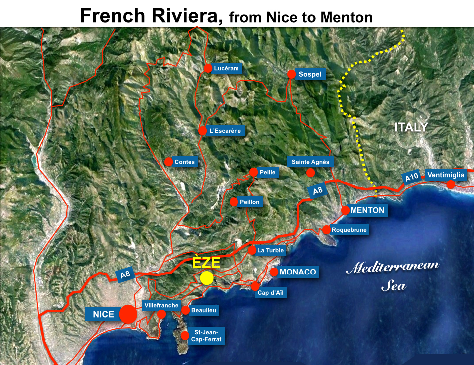 Eze Situation Map French Moments