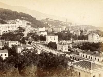Menton in 1890