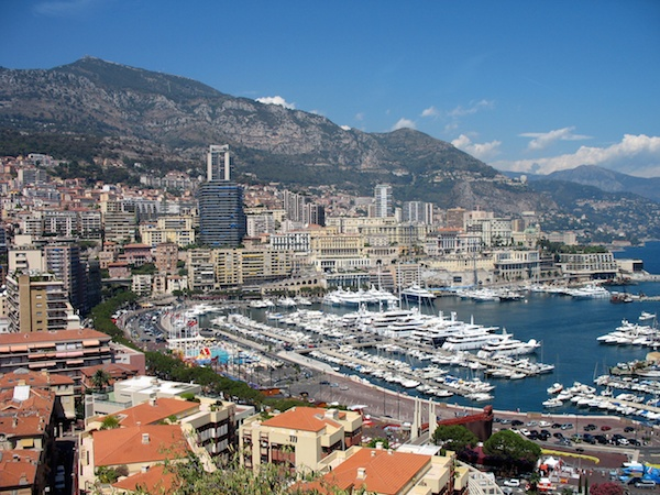 Monaco Port by R Meehan (Public Domain)