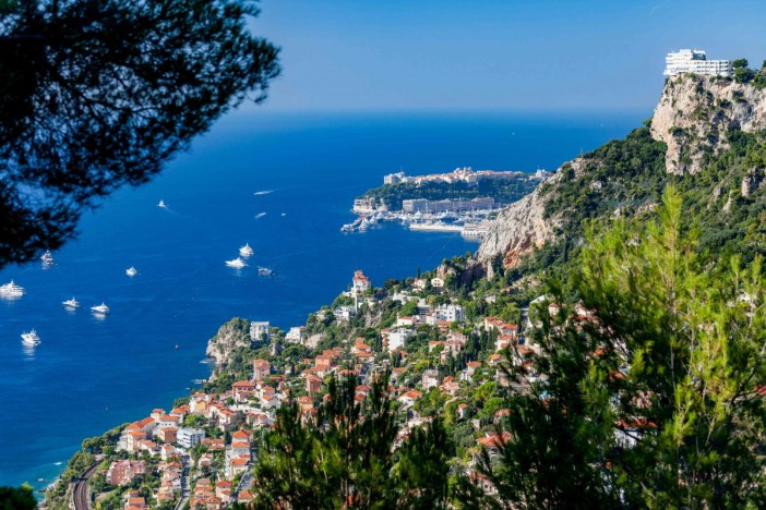 Roquebrune-Cap-Martin - Stock Photos from M_Ilie - Shutterstock