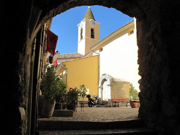Sainte-Agnes Village by Tangopaso (Public Domain)