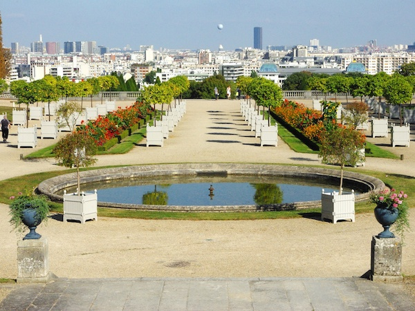 Orangerie Terrace, Parc de Saint-Cloud © French Moments