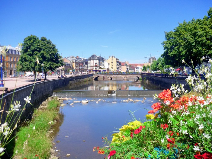 The Savoureuse River at Belfort © French Moments
