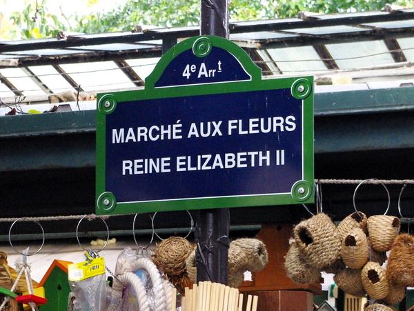 Marché aux fleurs Reine Elizabeth II 01 © French Moments