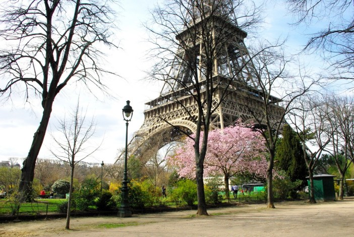 Spring at the Eiffel Tower 25 copyright French Moments
