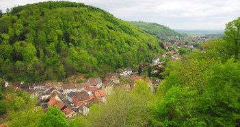 Ferrette viewed from the castle © French Moments