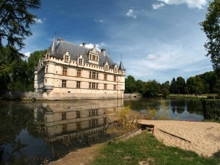 Azay-le-Rideau © Aubry Françon - licence [CC BY-SA 3.0] from Wikimedia Commons