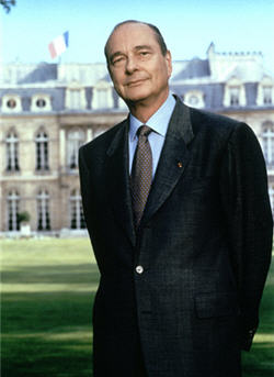 Jacques Chirac © La Documentation française. Photo Bettina Rheims.