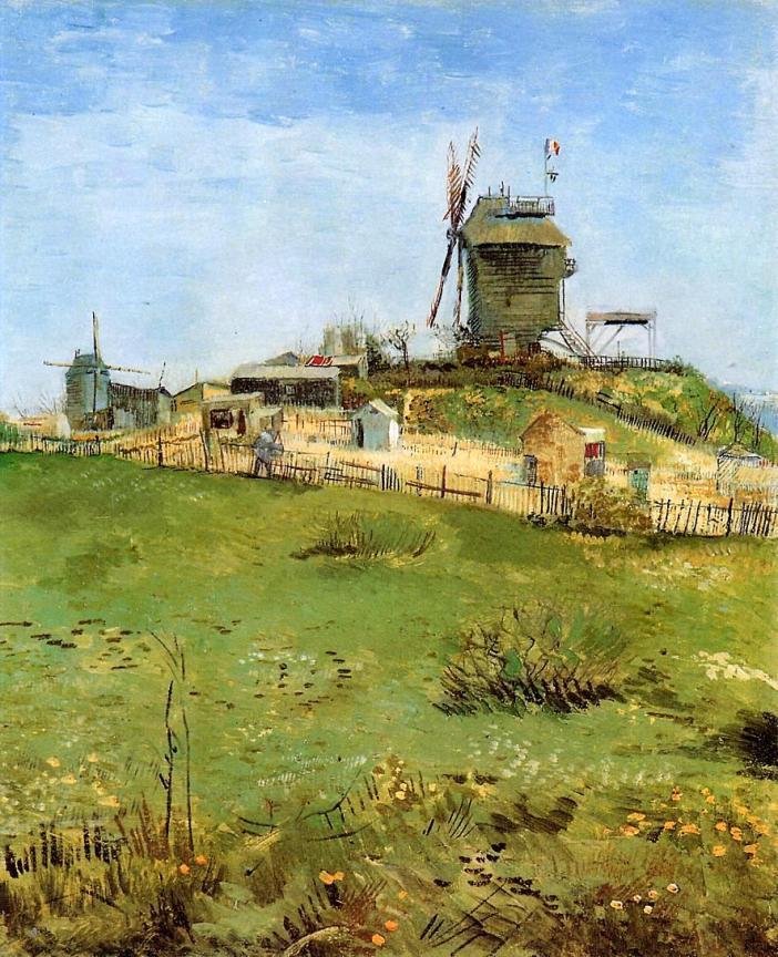 Le Moulin de la Galette by Vincent van Gogh 1887