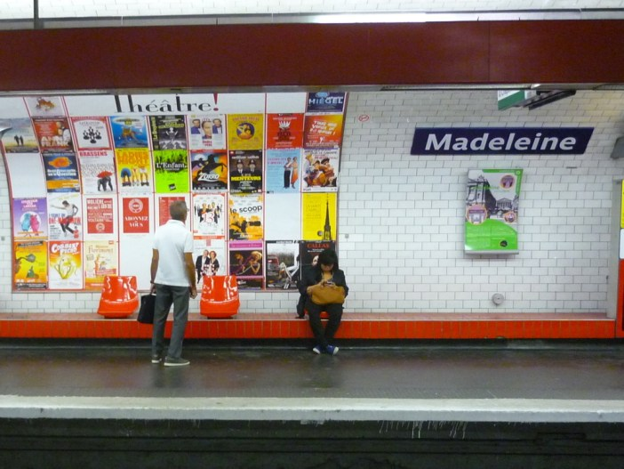 Métro Station Madeleine © French Moments