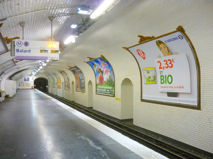 Metro Station - line 8 © French Moments