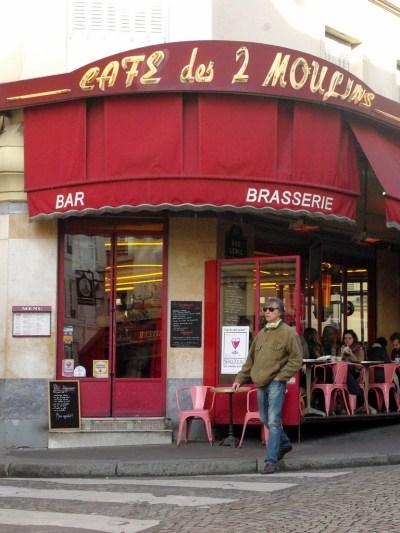 Café des 2 Moulins, Rue Lepic © French Moments