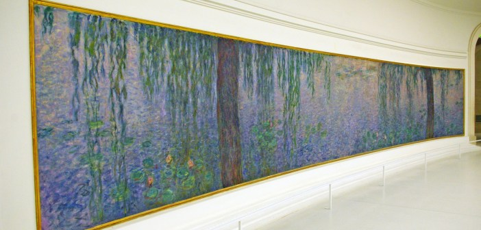 Nymphéas Claude Monet Orangerie © French Moments