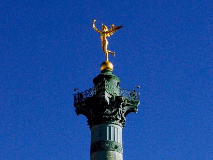 Génie de la Liberté Place de la Bastille © French Moments
