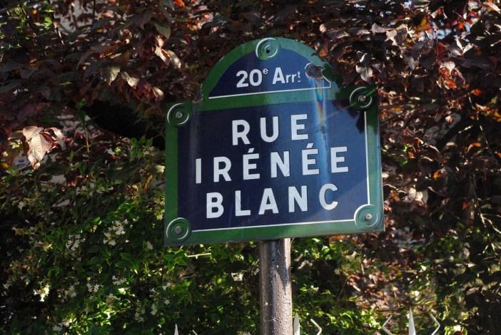 Rue Irénée Blanc, Paris © French Moments