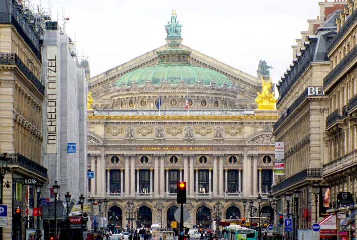 Palais Garnier viewed from Avenue de l'Opera copyright French Moments