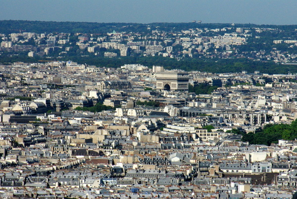 Paris View from Montmartre 29 copyright French Moments