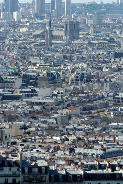 Paris View from Montmartre 84 copyright French Moments