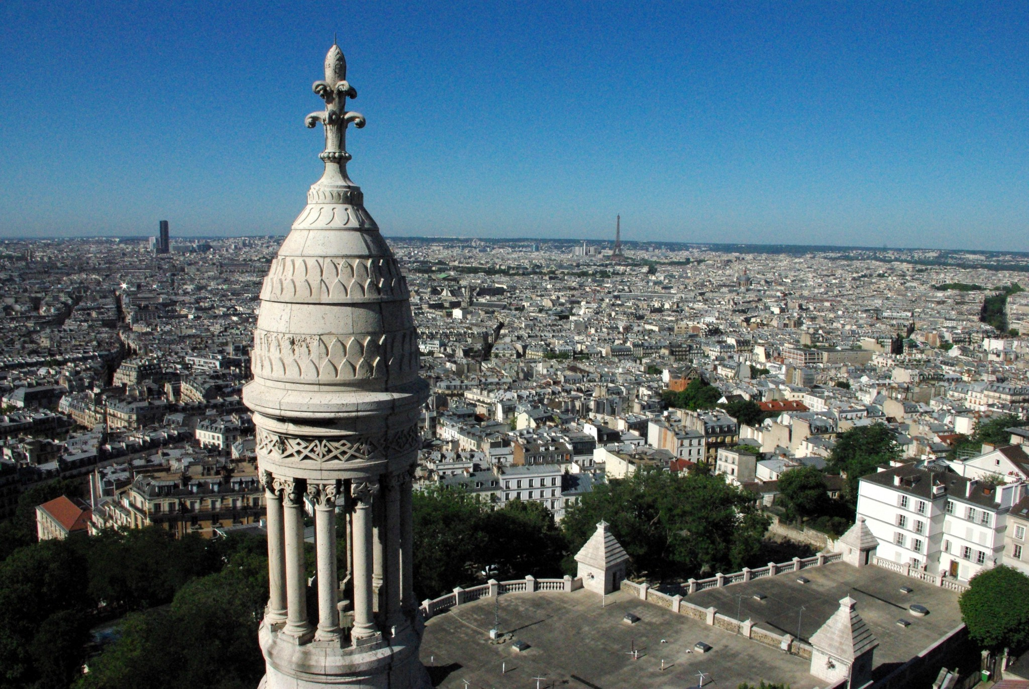 Paris Viewed From The Top Of Sacr 233 C Ur Montmartre Our