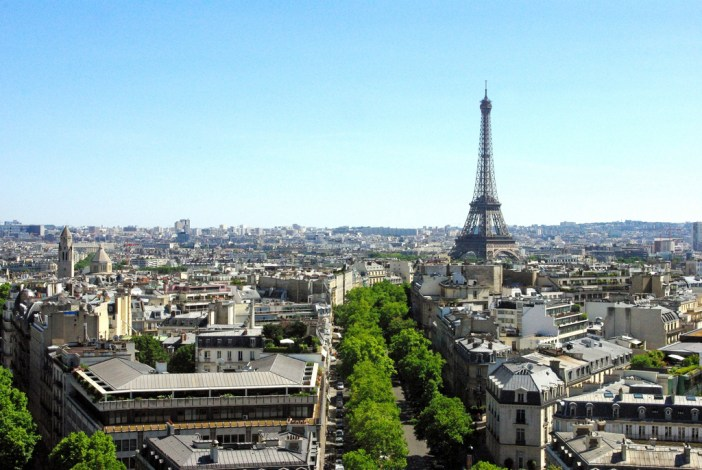 View from Arc de Triomphe 06 © French Moments