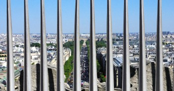 View from Arc de Triomphe © French Moments
