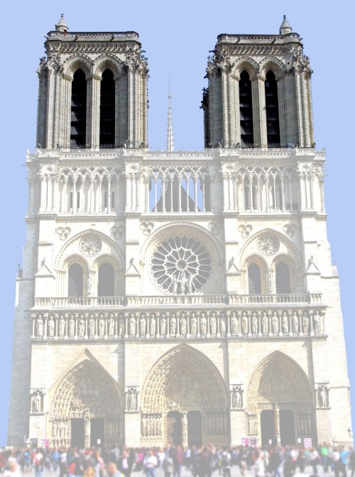 The towers, West Façade of Notre-Dame © French Moments