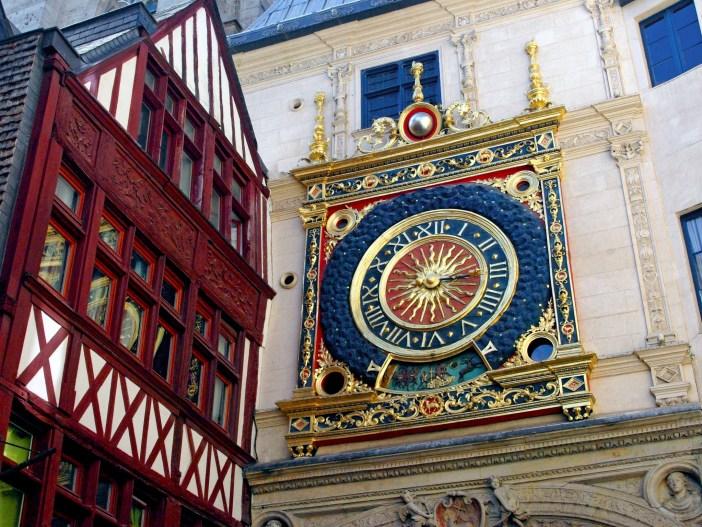 Gros Horloge, Rouen copyright French Moments