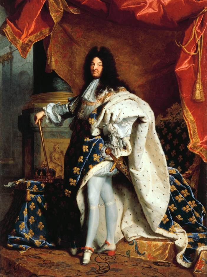 Louis XIV King of France by Hyacinthe Rigaud