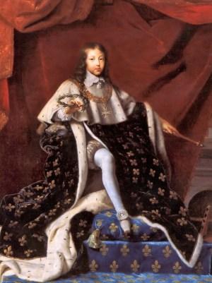 Louis XIV in 1648 age 10 by Henri Testelin