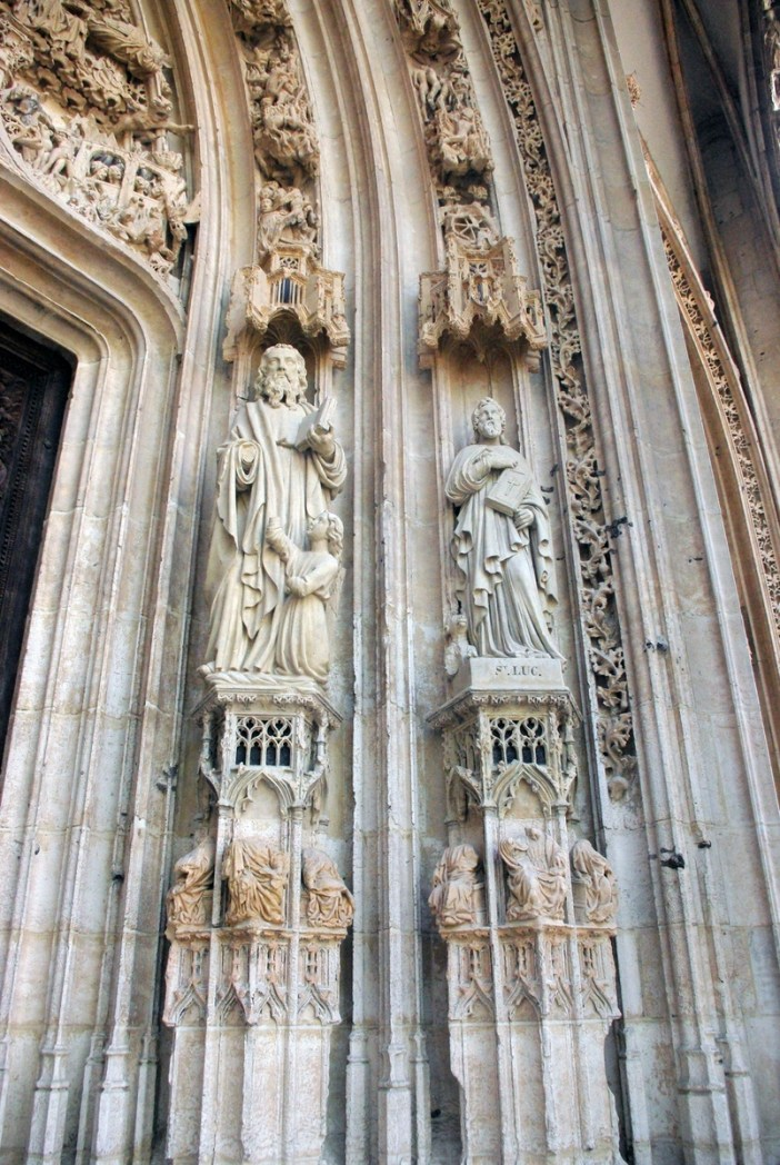 Main portal right Saint Maclou in Rouen copyright French Moments