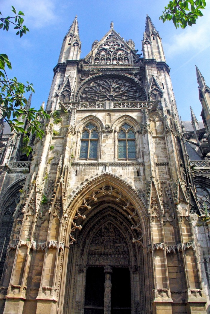 South Transept of Saint Ouen Abbey Church in Rouen copyright French Moments