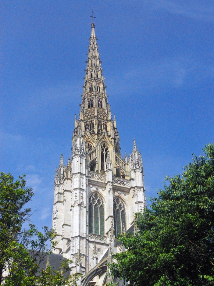 Spire of Saint Maclou copyright French Moments